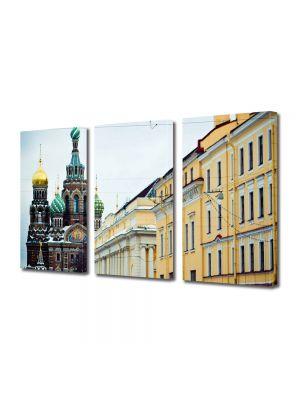 Set Tablouri Multicanvas 3 Piese St Petersburg Russia