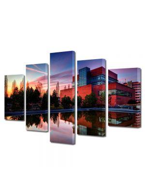 Set Tablouri Multicanvas 5 Piese Culori fabuloase
