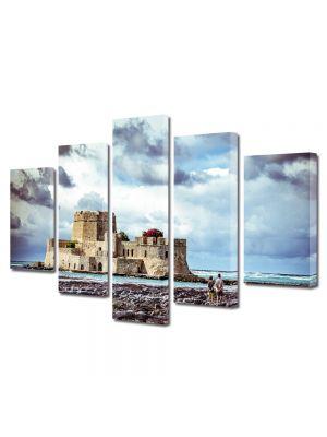 Set Tablouri Multicanvas 5 Piese Insula Coronado