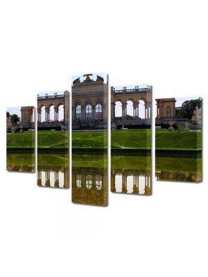 Set Tablouri Multicanvas 5 Piese Viena Austria