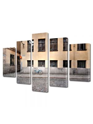 Set Tablouri Multicanvas 5 Piese Pavaj stradal