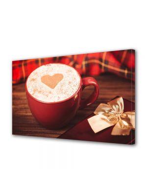 Tablou Canvas Valentine's Day Ziua indragostitilor Cafea cu dragoste