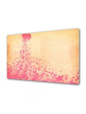 Tablou Canvas Valentine's Day Ziua indragostitilor Rau de culoare