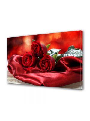 Tablou Canvas Valentine's Day Ziua indragostitilor 3 fire de trandafir rosu