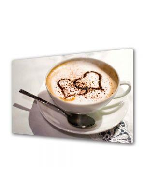 Tablou Canvas Valentine's Day Ziua indragostitilor Inimi de cafea