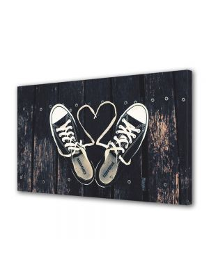 Tablou Canvas Valentine's Day Ziua indragostitilor Converse Love