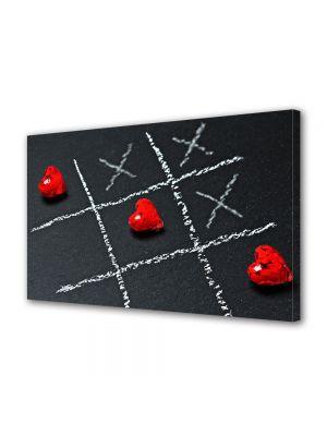 Tablou Canvas Valentine's Day Ziua indragostitilor X si inima