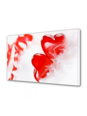 Tablou Canvas Valentine's Day Ziua indragostitilor Inimi in puf