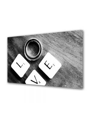 Tablou Canvas Valentine's Day Ziua indragostitilor Inel pentru tine