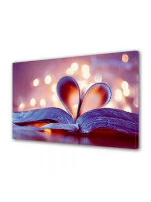Tablou Canvas Valentine's Day Ziua indragostitilor Pagini de carte