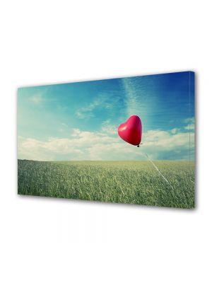 Tablou Canvas Valentine's Day Ziua indragostitilor Balon inima rosie
