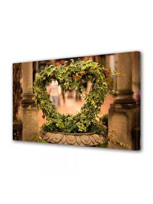 Tablou Canvas Valentine's Day Ziua indragostitilor Ghiveci cu dragoste