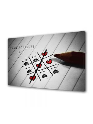 Tablou Canvas Valentine's Day Ziua indragostitilor Dragostea castiga mereu
