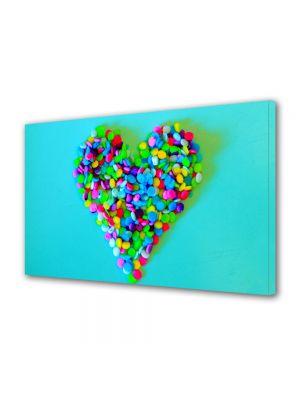 Tablou Canvas Valentine's Day Ziua indragostitilor Prajiturica colorata