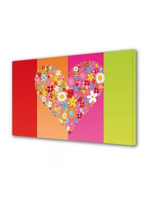 Tablou Canvas Valentine's Day Ziua indragostitilor Inima inflorita