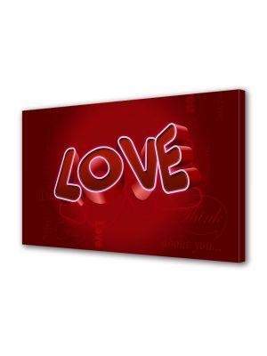 Tablou Canvas Valentine's Day Ziua indragostitilor Iubire rosie