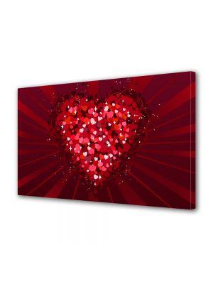 Tablou Canvas Valentine's Day Ziua indragostitilor Inima din inimioare