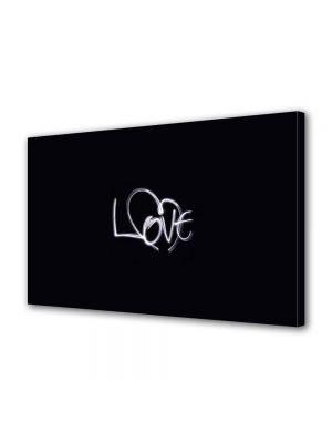 Tablou Canvas Valentine's Day Ziua indragostitilor Mesaj cu creta