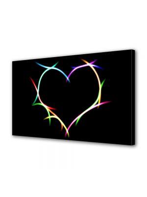 Tablou Canvas Valentine's Day Ziua indragostitilor Culori indragostite