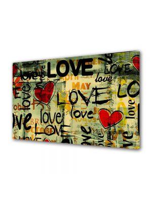 Tablou Canvas Valentine's Day Ziua indragostitilor Colaj abstract