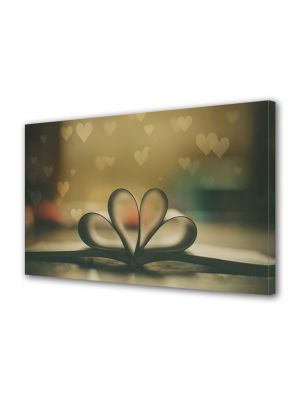 Tablou Canvas Valentine's Day Ziua indragostitilor Inimi multiple