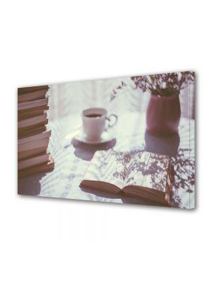 Tablou Canvas Luminos in intuneric VarioView LED Vintage Aspect Retro Dimineata perfecta