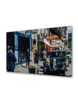 Tablou Canvas Vintage Aspect Retro Anii '50