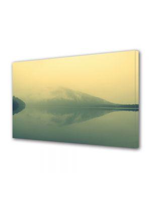Tablou Canvas Vintage Aspect Retro Lacul verzui