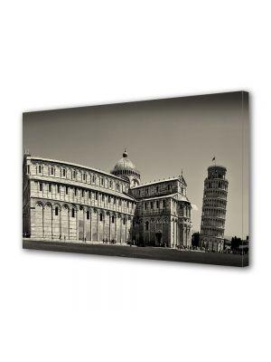 Tablou Canvas Vintage Aspect Retro Vedere din Pisa