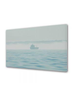 Tablou Canvas Luminos in intuneric VarioView LED Vintage Aspect Retro Vas pe marea cetoasa