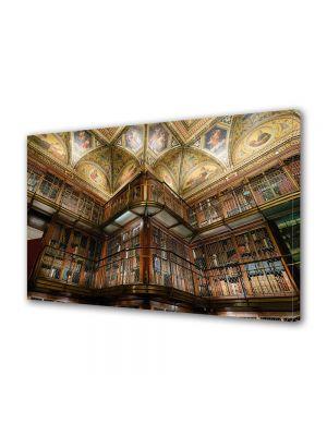 Tablou Canvas Vintage Aspect Retro Biblioteca moderna