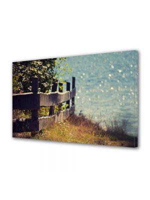 Tablou Canvas Vintage Aspect Retro La marginea gradinii