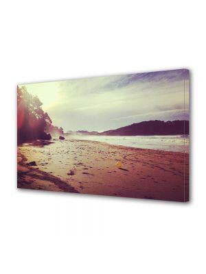 Tablou Canvas Vintage Aspect Retro Plaja in lumina soarelui
