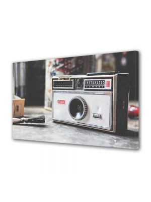 Tablou Canvas Luminos in intuneric VarioView LED Vintage Aspect Retro Camera vintage Kodak