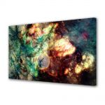 Tablou Canvas Luminos in intuneric VarioView LED Abstract Modern Spatiu