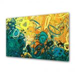 Tablou VarioView MoonLight Fosforescent Luminos in intuneric Abstract Decorativ Nuante pastelate