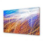 Tablou Canvas Abstract Plasa de lumina