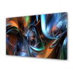 Tablou Canvas Luminos in intuneric VarioView LED Abstract Modern Arta plastica