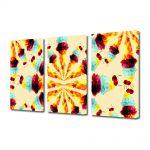 Set Tablouri Multicanvas 3 Piese Abstract Decorativ Supraexpus