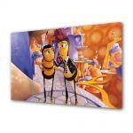 Tablou Canvas pentru Copii Animatie Albinuta