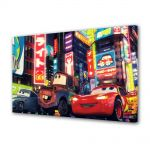 Tablou Canvas pentru Copii Animatie Filmul Cars 2