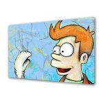 Tablou Canvas pentru Copii Animatie Futurama Fry