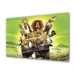Tablou Canvas pentru Copii Animatie Madagascar 2