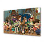 Tablou Canvas pentru Copii Animatie Toy Story 2 Personajele