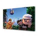 Tablou VarioView MoonLight Fosforescent Luminos in intuneric Animatie pentru copii Pixar Up Movie