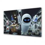 Tablou VarioView LED Animatie pentru copii WallE si Eve