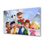 Tablou Canvas pentru Copii Animatie The Peanuts Gasca Vesela