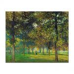 Tablou Arta Clasica Pictor Claude Monet The Allee du Champ de Foire at Argenteuil 1874 80 x 100 cm