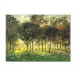 Tablou Arta Clasica Pictor Claude Monet The Promenade at Argenteuil, Soleil Couchant 1874 80 x 110 cm