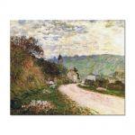 Tablou Arta Clasica Pictor Claude Monet The Route a Vetheuil 1878 80 x 100 cm